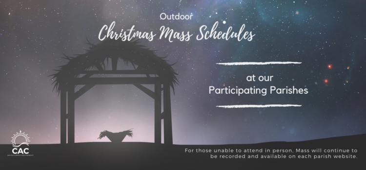 Christmas Mass Times!