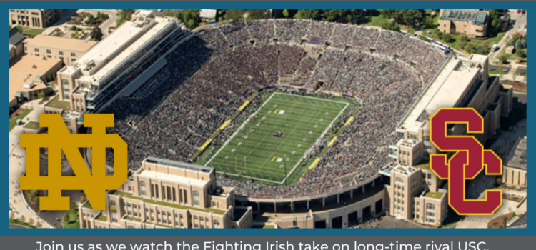 Notre Dame GAME WATCH and POTLUCK – All Ages
